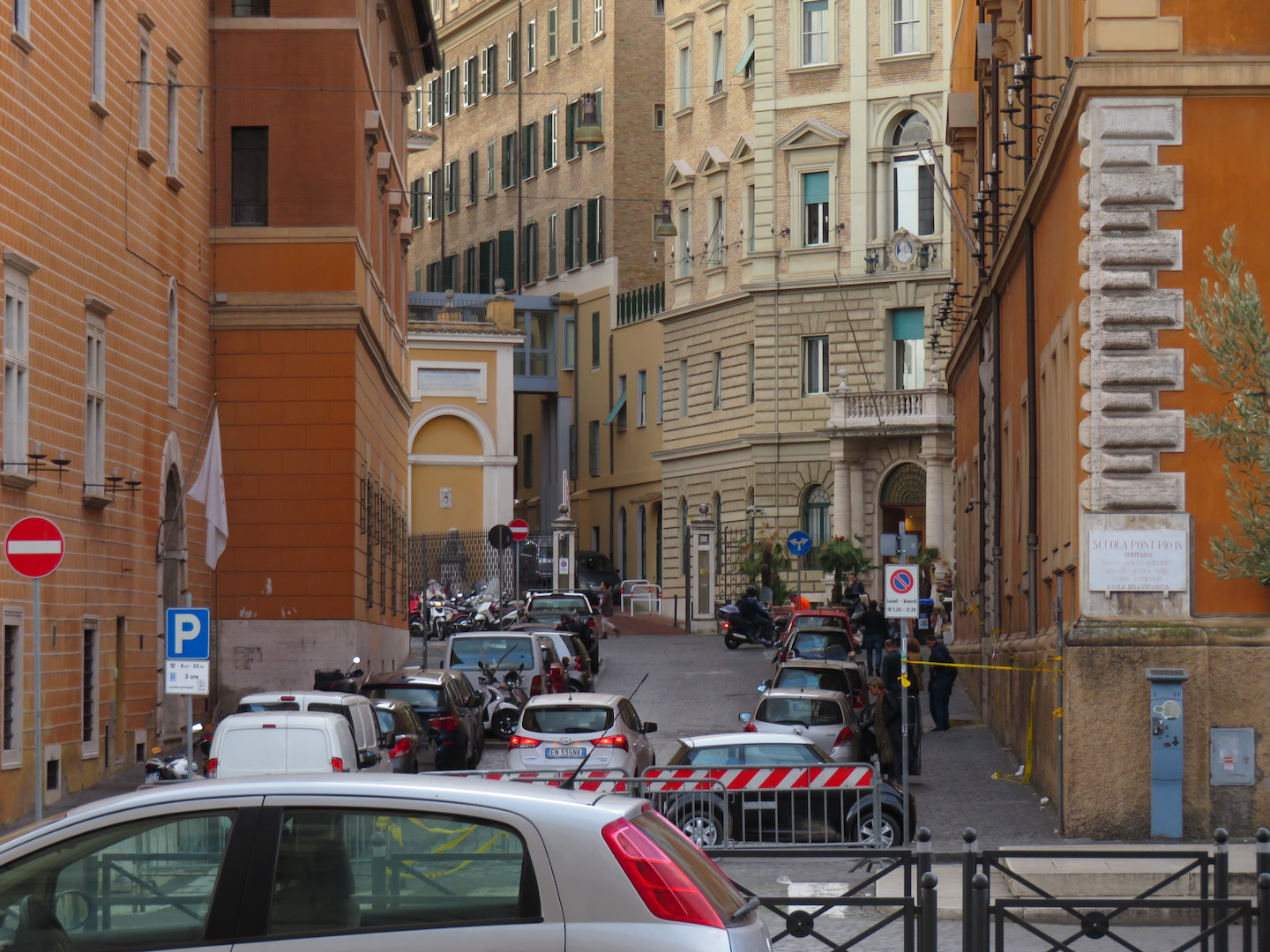 Street in Rome, Italy