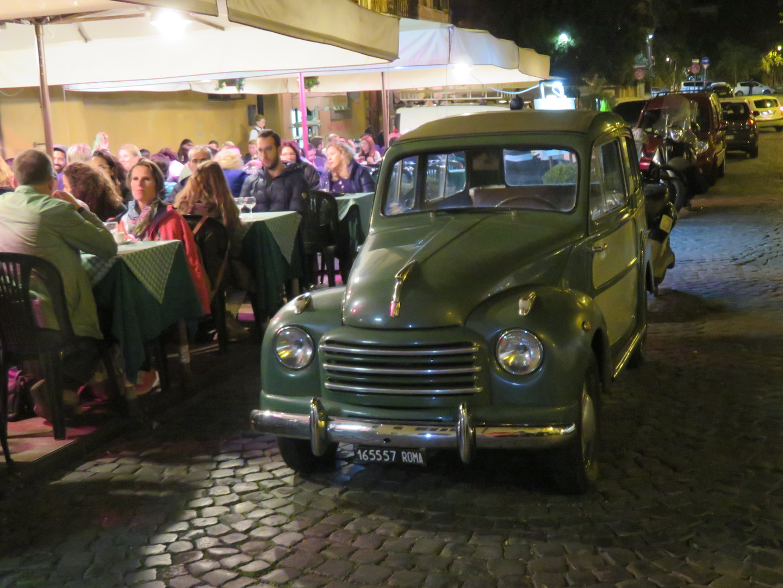 Rome, Italy Car Nightlife