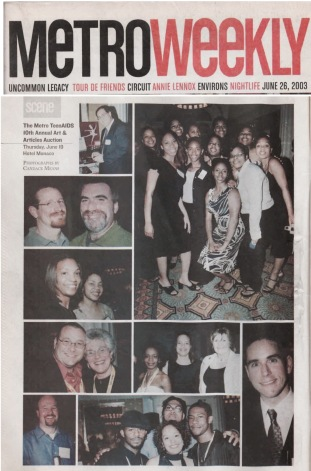 Metro Weekly June 26, 2003