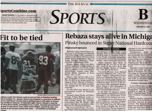 Fairfax Journal, August 8, 2001